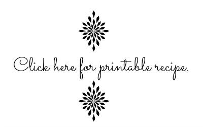 printable recipe card