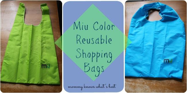 use reusable shopping bags