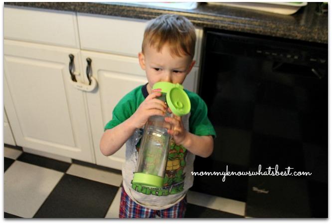 glass water bottle for kids