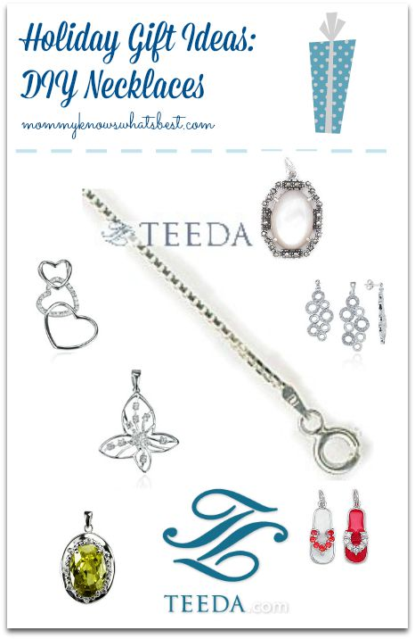 holiday gift ideas silver necklaces