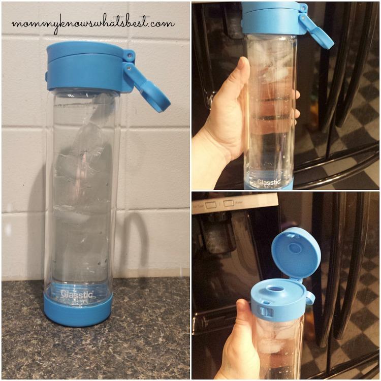 glasstic reusable glass water bottles