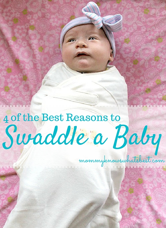best reasons to swaddle a baby