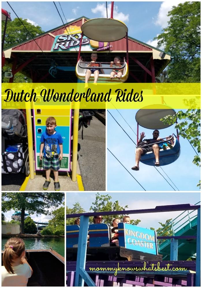 dutch wonderland rides for kids