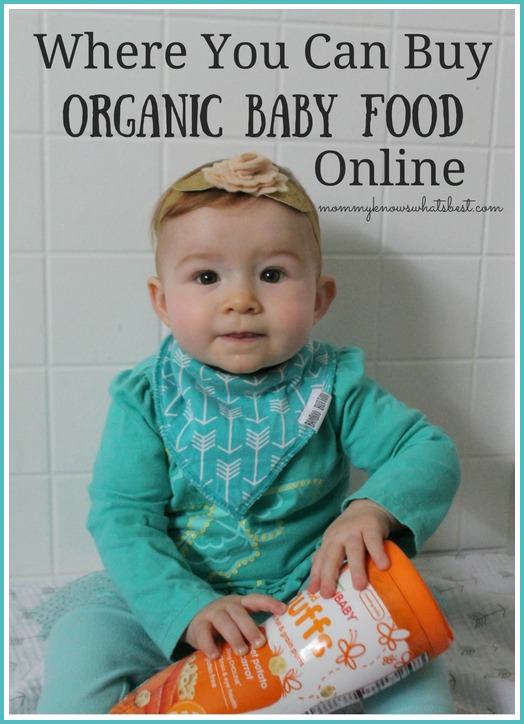 Where You Can Buy Organic Baby Food Online