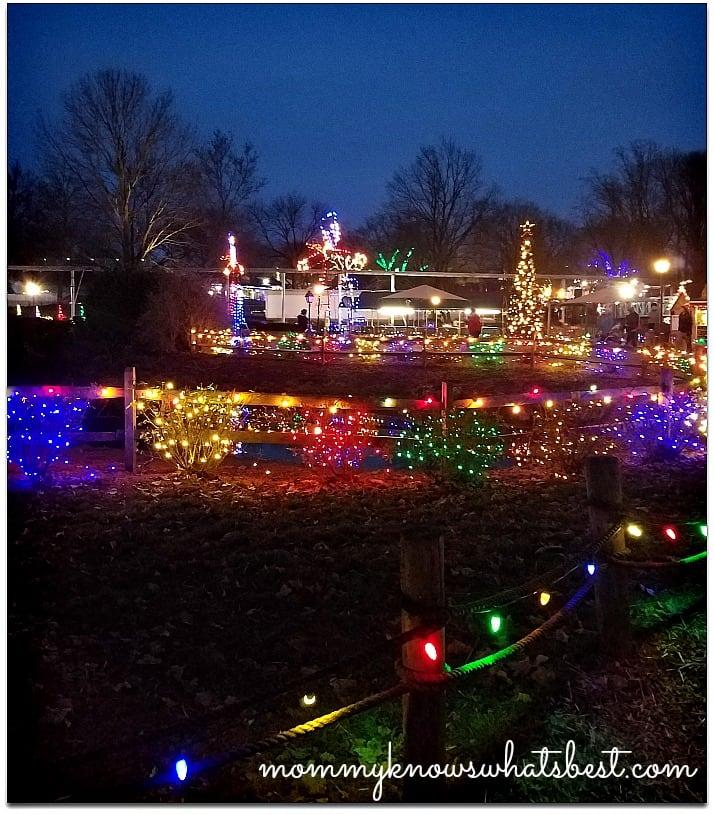 christmas lights dutch wonderland