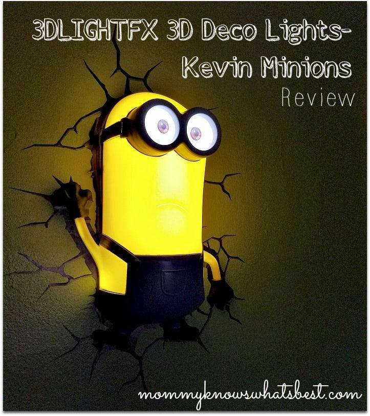 minion room decor kevin 3DLIGHTFX 3D Deco Lights