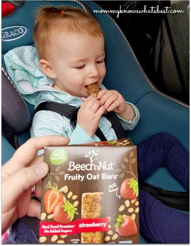 beech nut fruity oat bars