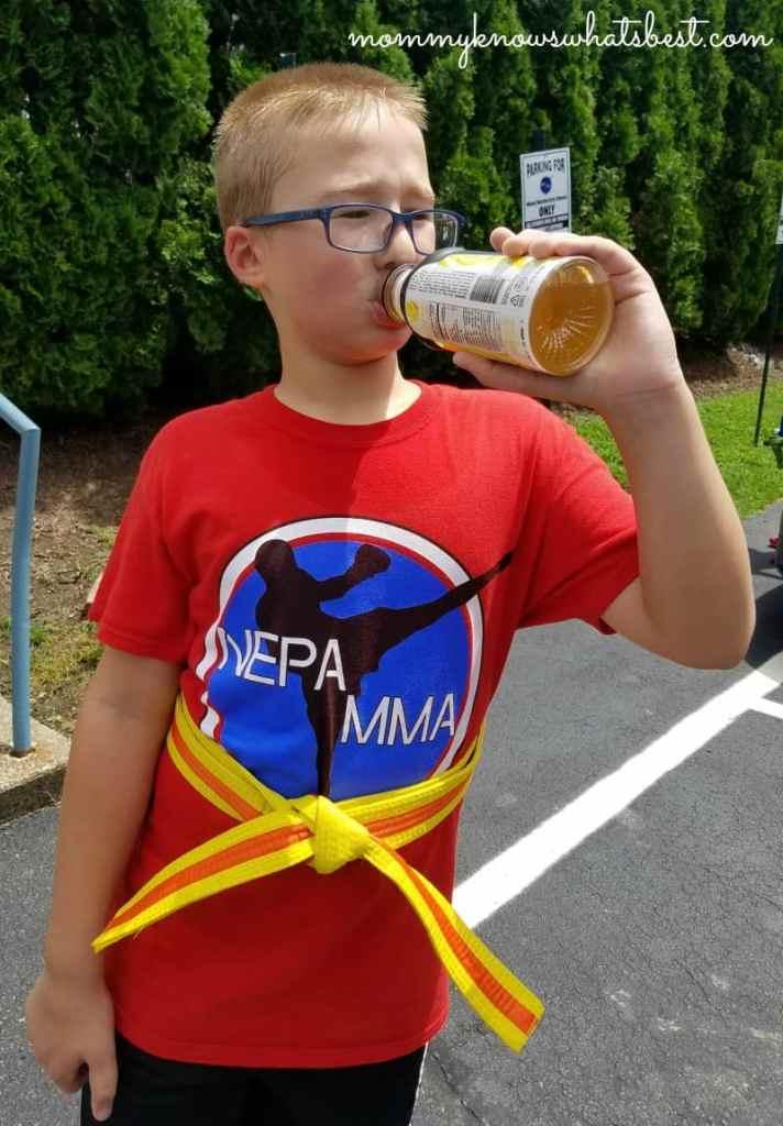 bodyarmor sports drink karate kid