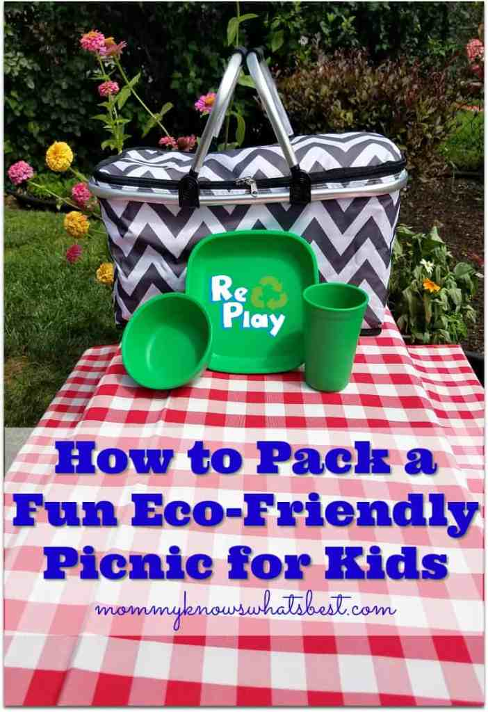 how to pack a fun eco-friendly picnic for kids