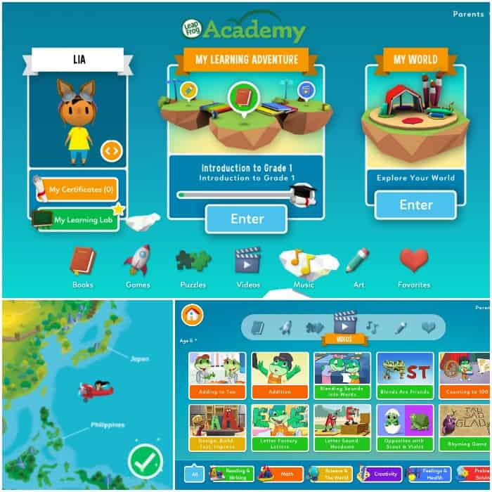 LeapFrog Academy review first grade