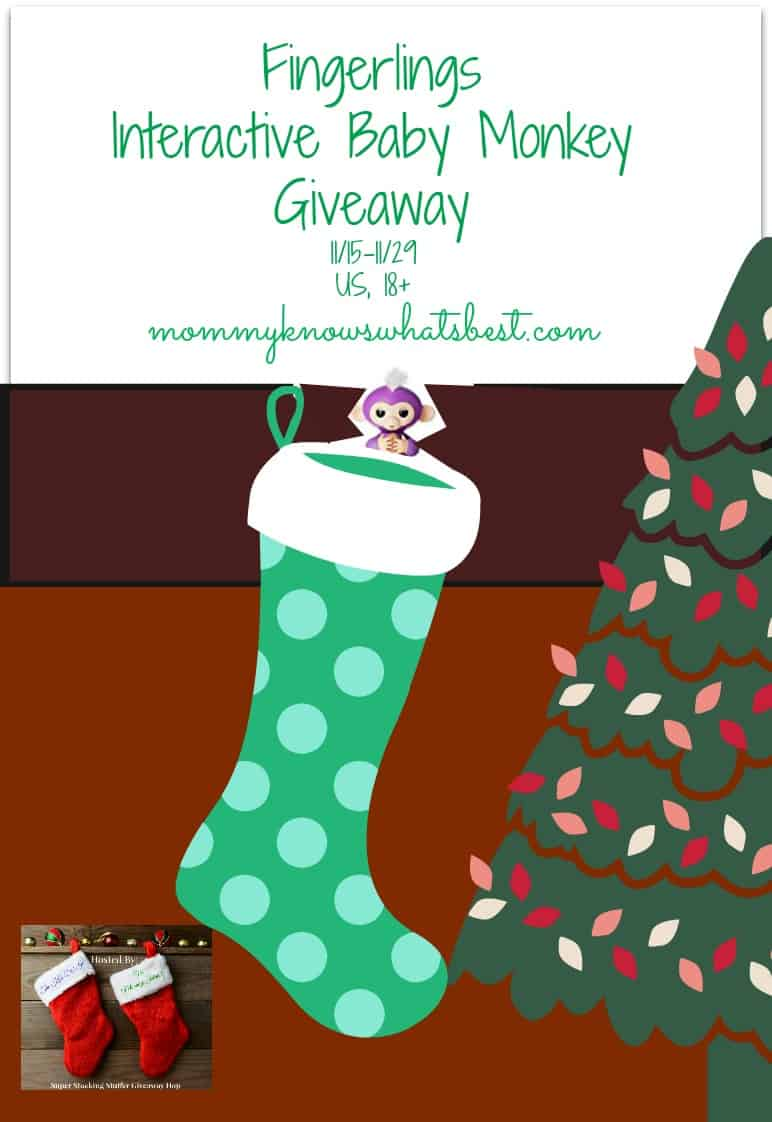 fingerlings interactive baby monkey giveaway