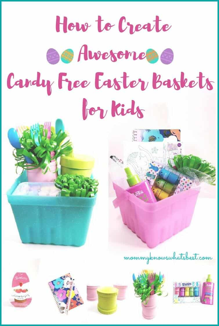 How to create an awesome candy free easter baskets for kids how to create awesome candy free easter baskets for kids negle Gallery
