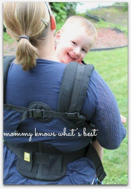 how to babywear