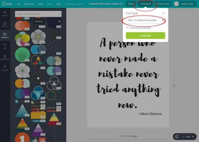 canva free printables tutorials
