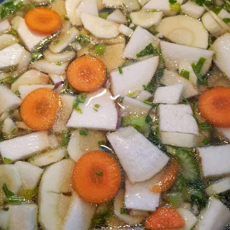 Chicken Soup Recipe Vegetables