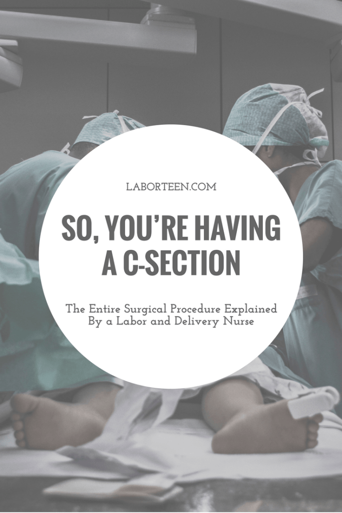 scheduled c section what to expect