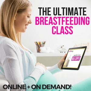 online breastfeeding class