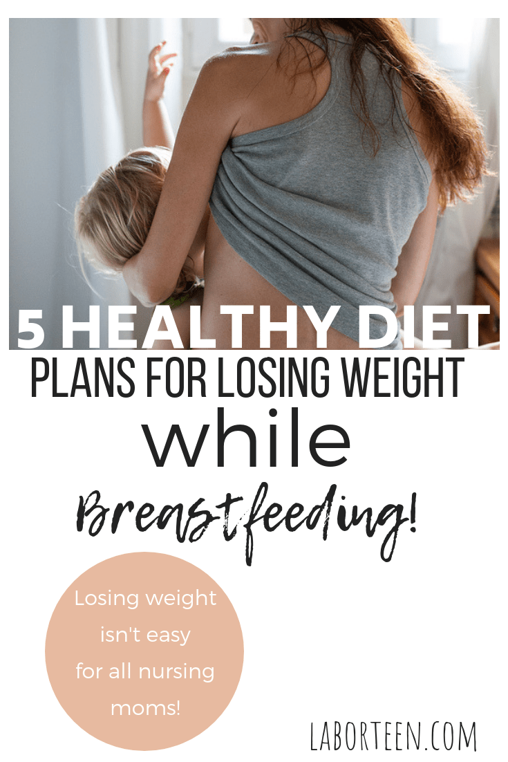 not losing weight while breastfeeding