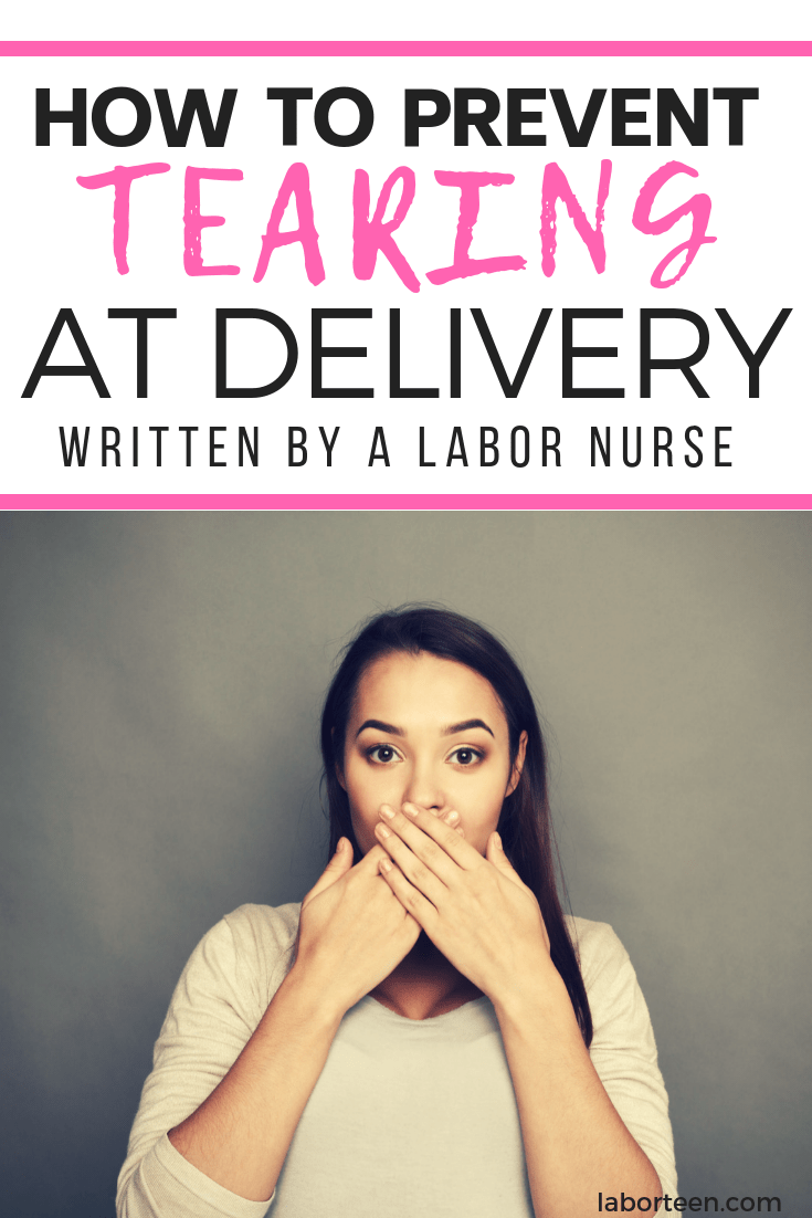 how to prevent tearing during delivery