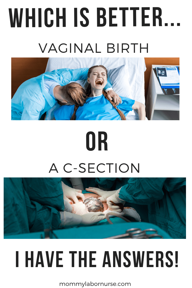 VAGINAL BIRTH VS C-SECTION