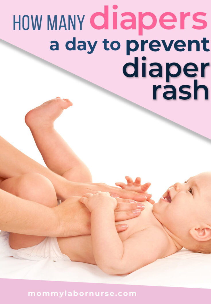 how many diapers per day prevent diaper rash