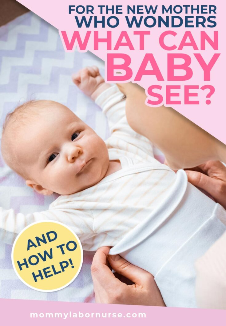 what can baby see