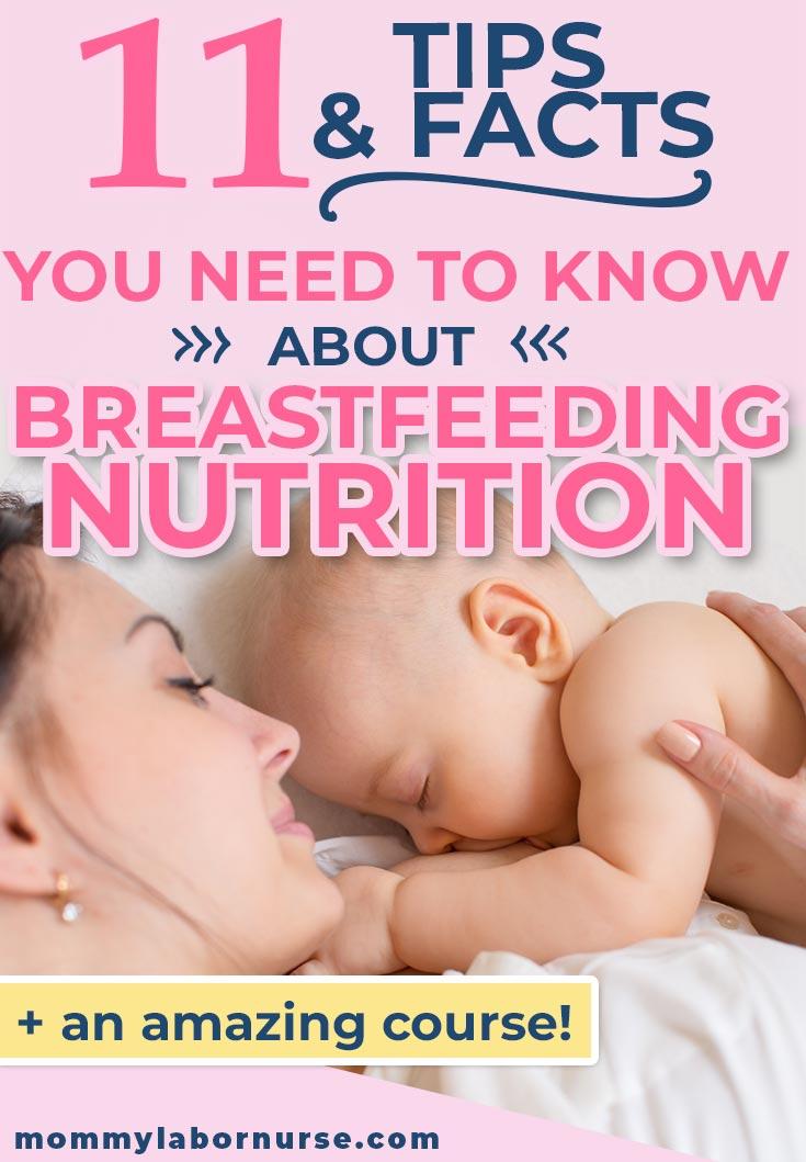 breastfeeding nutrition mom and baby