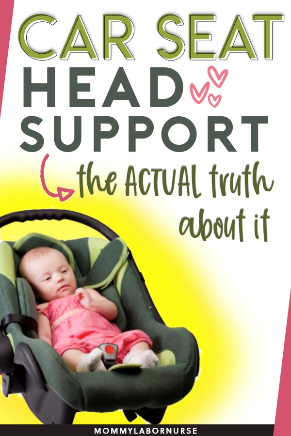 car seat head support safety, The Eternal Infant Car Seat Head Support Safety Debate—and the ANSWER