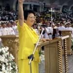 Corazon Aquino died at the age of 76