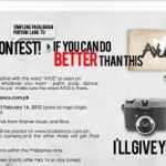 Design and win a Camera and Ipod Shuffles!