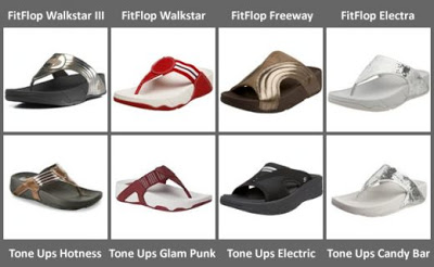 Skechers Tone Ups or Fitflop Sandals?