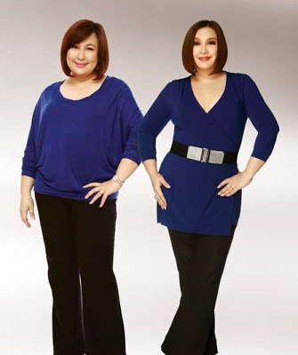 Woot Woot say hello to a slimmer Sharon Cuneta!