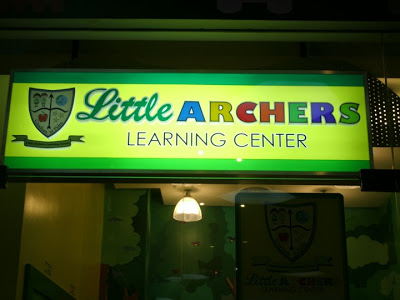 Check out Little Archers Learning Center at the Mall of Asia