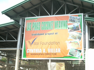 Villar Foundation's Clean and Green and Livelihood projects
