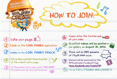 Ceelin Cool Chew Craze: Join and win P10,000
