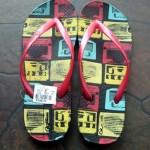 My son's new flip flop – Caribbean Footwear