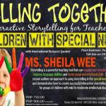 Interactive Storytelling for teachers of children with special needs