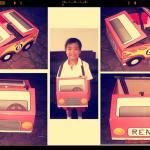 Ren's Car Costume Design