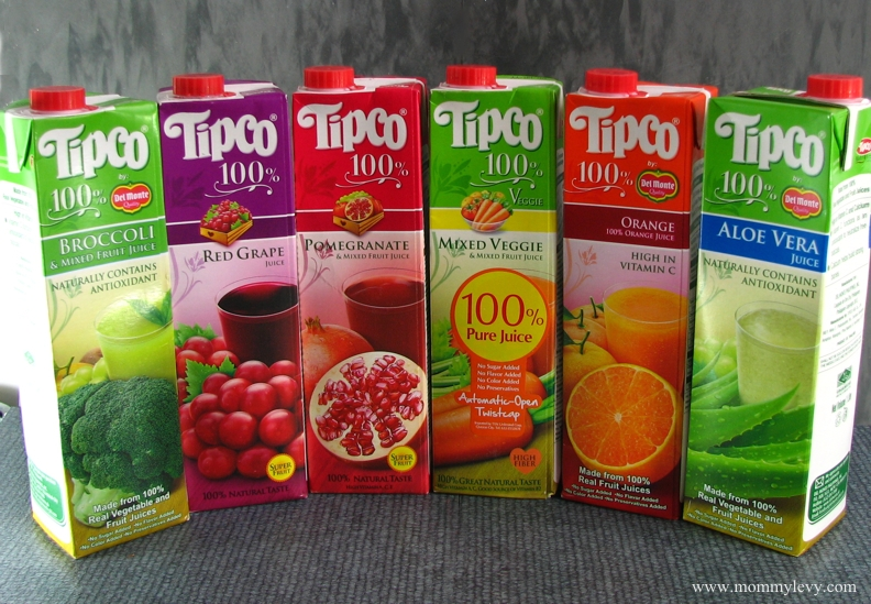 Try Tipco 100% Juices by Del Monte