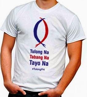 ABS-CBN Yolanda Tulong Na, Tabang Na, Tayo Na T-shirt