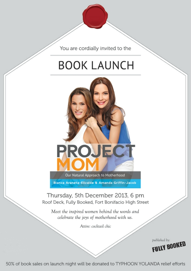 Project Mom book launch