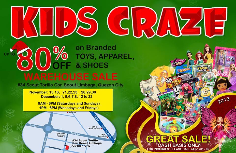 Richwell Kids Craze Warehouse Sale 2013