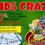 Richwell Kids Craze Warehouse Sale 2013