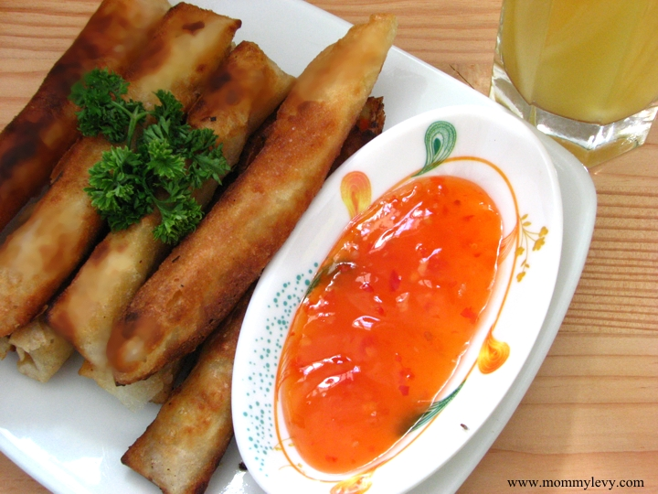 Tuna Lumpiang Shanghai using Minola Lauric Oil