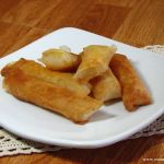 Tikoy + Cheese wrapped in Lumpia Wrapper