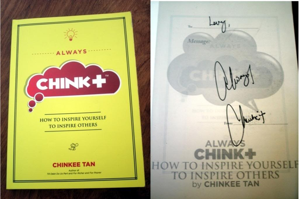 Book Review: Always Chink Postive by Chinkee Tan