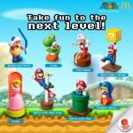 McDonald's Happy Meal: Super Mario Toys 2014