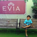 Spending a relaxing time at EVIA Lifestyle Center at Daang Hari