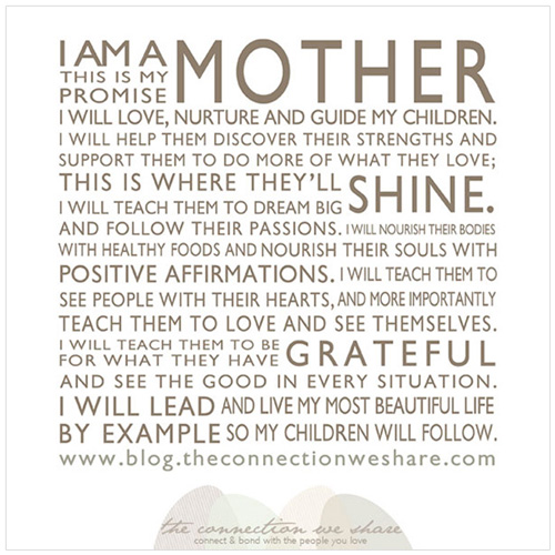 mothers promise