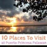 10 Places To Visit At Puerto Princesa Palawan